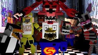 Minecraft   FIVE NIGHTS AT FREDDY'S MOD Showcase! (5 Nights at Freddys Mod, Five Nights at Freddy)