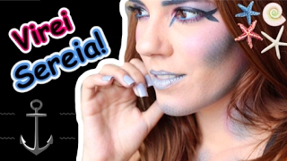 Virei Sereia - Tutorial de Carnaval 01
