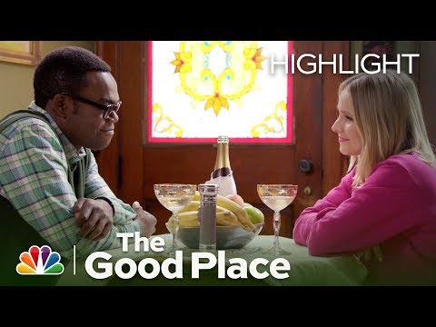 Eleanor and Chidi Go on a Hot Date - The Good Place (Episode Highlight)