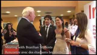 Official Visit To Brazil - Rio De Janeiro / Visite Officielle Au Brésil - Rio De Janeiro
