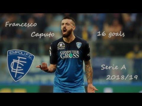 Francesco Caputo I 16 goals with Empoli I Serie A 2018/19