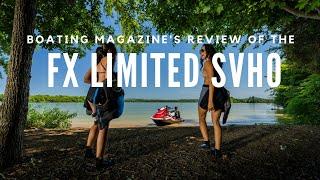 6. Boating Magazine Boat Buyers Guide  2019 Yamaha FX Limited SVHO