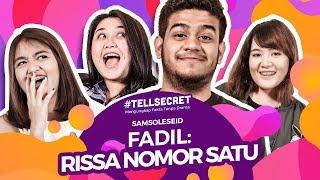 Download Video Pengakuan Fadil Pernah Baper Sama Rissa #TellSecret MP3 3GP MP4