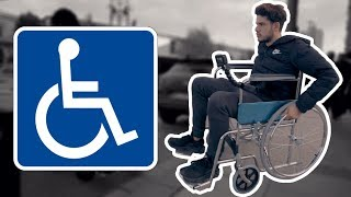 Video SPEND A DAY WITH THE WHEEL CHAIR MP3, 3GP, MP4, WEBM, AVI, FLV Agustus 2018