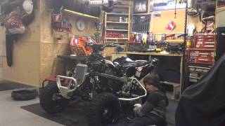 10. 2014 Can-Am DS 450x mx Motor Removal