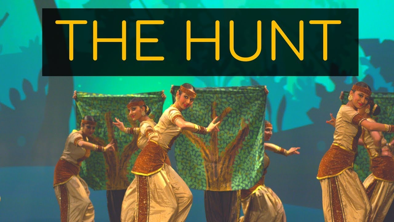 The Hunt (A Bharatanatyam Battle) | Kruti Dance Academy