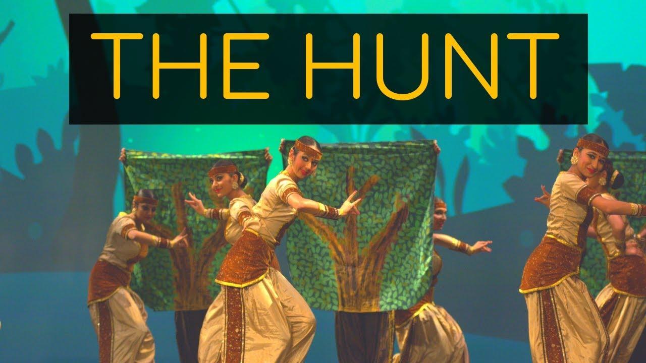 The Hunt (A Bharatanatyam Battle)   Kruti Dance Academy