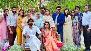 Rana Daggubati & Miheeka Bajaj Engagement Video   Rana Marriage Video