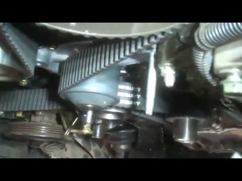 timing belt replacement water pump toyota camry solara 2004 3 3l v6 install remove free video. Black Bedroom Furniture Sets. Home Design Ideas