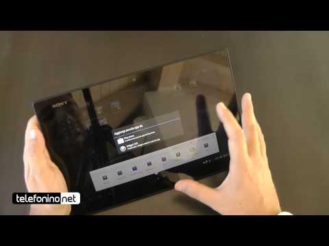 Sony Xperia Tablet Z videoreview da Telefonino.net