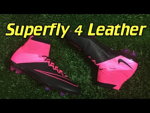K-Leather Nike Mercurial Superfly 4 (Tech Craft Pack) - Review + On Feet