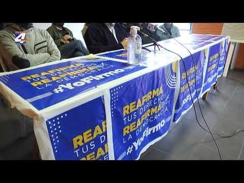 Cierre de la campaña de recolección de firmas en Paysandú