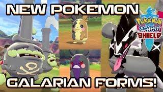 GALARIAN FORMS CONFIRMED! NEW POKEMON! OBSTAGOON, MORPEKO! Pokemon Sword and Pokemon Shield! by PokeaimMD