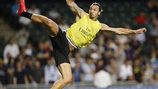 Zlatan Ibrahimovic Kung-Fu/Taekwondo Goal (HD - Best Angle) - Hong-Kong China 2014 - YouTube