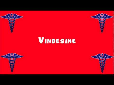 Pronounce Medical Words ― Vindesine