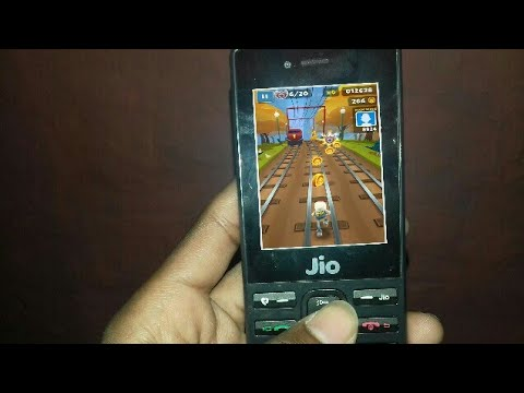 How To Download And Play Games In Jio Phone||subway Surfers