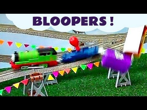 Thomas The Tank Engine- Accidents Happen to Thomas The Tank Engine Bloopers Funny Toys Kids