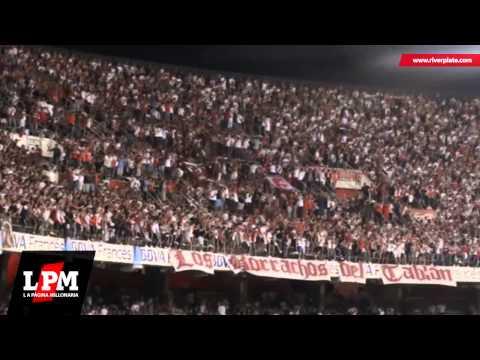 Gol + Esta es la banda loca del Millonario - River vs Godoy Cruz - Los Borrachos del Tablón - River Plate
