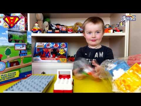 Costruzioni Mattoncini per bambini Lego duplo Unico Plus PlayBig Mattoncini colorate per piccini