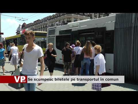 Se scumpesc biletele pe transportul în comun