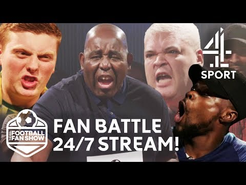 The Most SAVAGE Fan Battles! | The Real Football Fan Show 24/7 Live Stream