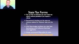 2012, 2013 Tax Forms For State
