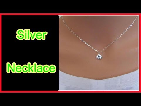Silver Necklace, silver necklace for women , silver necklace designs,silver necklace, silver necklac