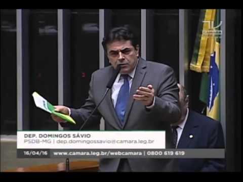 Deputado Domingos Sávio diz que Dilma não é só omissa, mas também 'co-responsável'