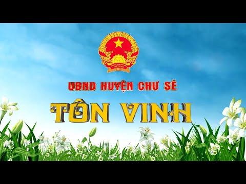 Các Doanh nghiệp được UBND huyện Tôn vinh