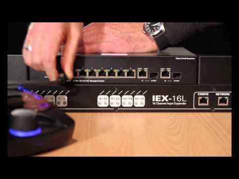 Conexiones de Entradas en IEX16