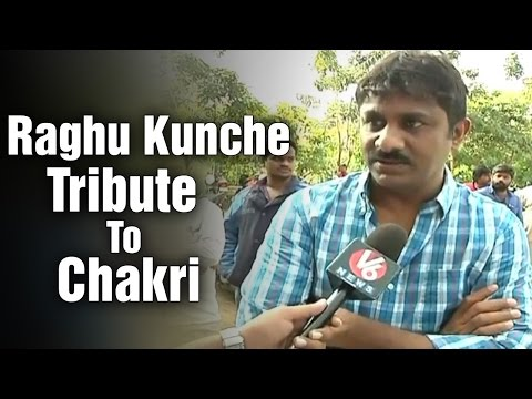 Video Music director Raghu Kunche offers tribute to Chakri download in MP3, 3GP, MP4, WEBM, AVI, FLV January 2017
