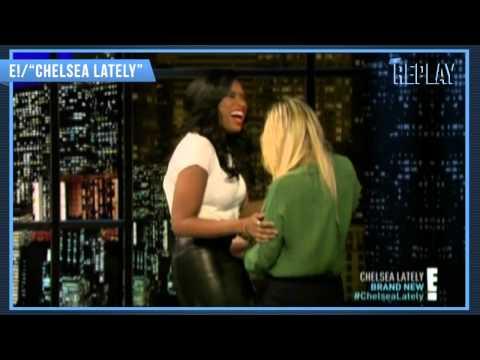 Jennifer Hudson's Hilarious 'Chelsea Lately' Wardrobe Malfunction