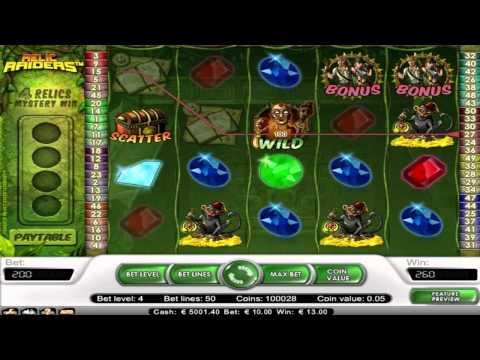 Relic Raiders ™ free slot machine game preview by Slotozilla.com