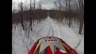 5. Deep powder...2005 ski doo 500ss(600)