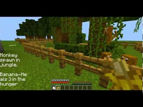 Minecraft mod spotlight Zoo mod
