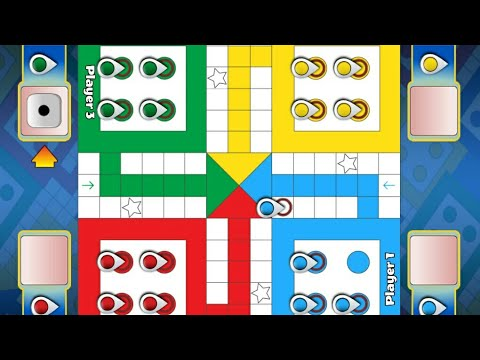 Ludo game in 2 player in Indian game.... Must Watch