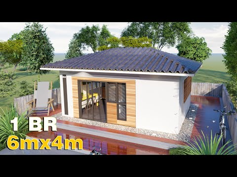 Small House Design 6x4 (24 SQM) Bungalow