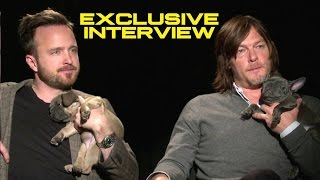 Nonton Aaron Paul and Norman Reedus Exclusive Interview with Puppies - TRIPLE 9 (2016) Film Subtitle Indonesia Streaming Movie Download