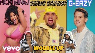 NICKI SO FINE 😍Chris Brown - Wobble Up (Official Video) ft. Nicki Minaj, G-Eazy | FVO REACTION