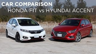 9. Car Comparison | Honda Fit vs Hyundai Accent | Driving.ca