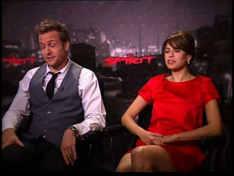 Gabriel Macht - Chuck the Movieguy interviews Eva Mendes and Gabriel Macht for the movie The Spirit.