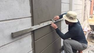 Video How to make a professional wall, using sand and cement ratio 1/11 MP3, 3GP, MP4, WEBM, AVI, FLV Agustus 2018