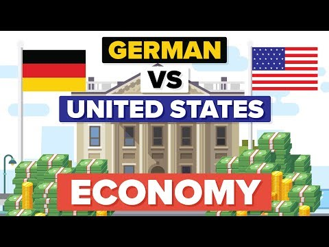 How Does German Economy Compare to United States Economy?