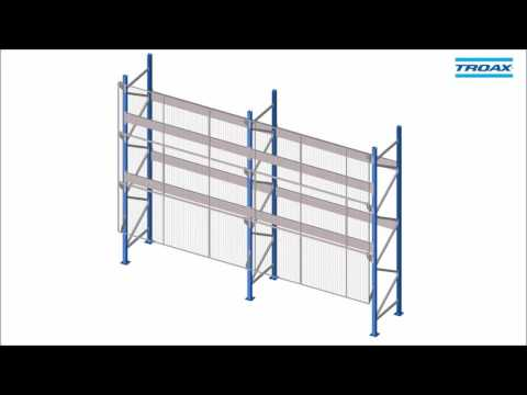 Troax Assembly Instruction Anti collapse System for Pallet rack