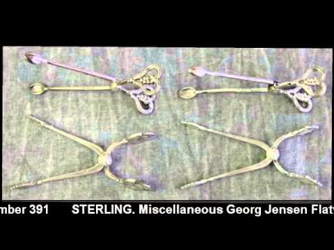 Georg Jensen Flatware | Sterling | Clarke Auction Gallery