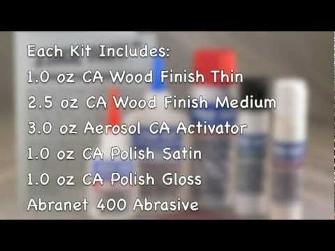 CA Wood Finish Starter Kit
