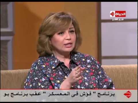 """شاهد- إلهام شاهين: رفضت وجود بديل لممدوح عبد العليم في """"ليالي الحلمية"""""""