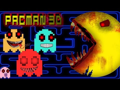 PAC-MAN 3D [HORROR GAME] - THE MOST HORRIFYING PAC-MAN EXPERIENCE EVER!