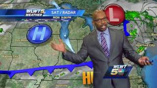 Humidity levels will continue to fall overnight.Subscribe to WLWT on YouTube now for more: http://bit.ly/1ipUX3cGet more Cincinnati news: http://wlwt.comLike us: http://facebook.com/wlwt5Follow us: http://twitter.com/WLWTGoogle+: https://plus.google.com/+wlwt
