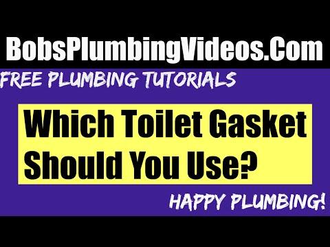 Leaking Wax Ring / Wax Toilet Gasket or Not!